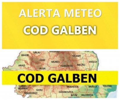 Alerta meteo de la ANM. Vine prapadul in Romania! Rafalele vor depasi 100 km/h