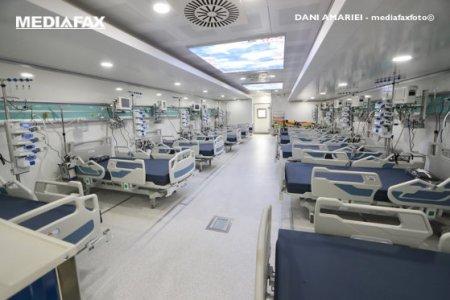 Care e situatia paturilor ATI pentru bolnavii de COVID: La nivel national mai sunt libere 21 de paturi pentru cei in stare grava