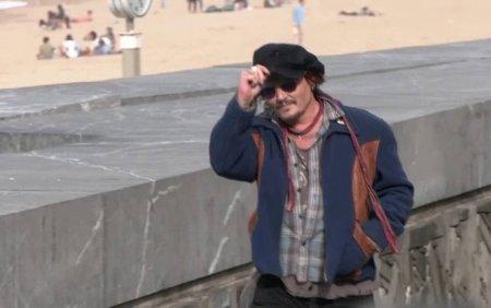 Johnny Depp a primit cea mai inalta distinctie a Festivalului de film de la San Sebastian, in <span style='background:#EDF514'>SPANIA</span>