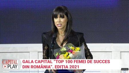 Gala <span style='background:#EDF514'>TOP 100</span> femei de succes. Premiu special pentru 40 de intrebari cu Denise Rifai, revelatia anului in media