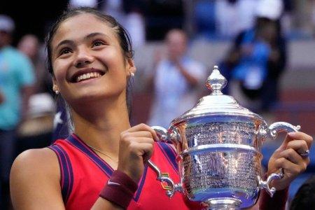 Emma Raducanu, locul 3 in topul castigurilor din tenis pe 2021. Ce loc ocupa Simona Halep