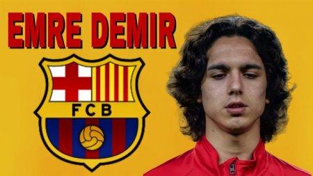 Barcelona a semnat cu un mijlocas turc de 17 ani. Clauza de reziliere e de 400 milioane euro