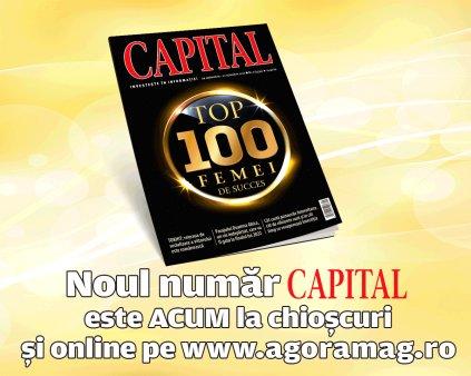 Capital Top 100 Femei de Succes, editia 2021 este acum pe piata! Descopera care sunt femeile lider ale Romaniei!