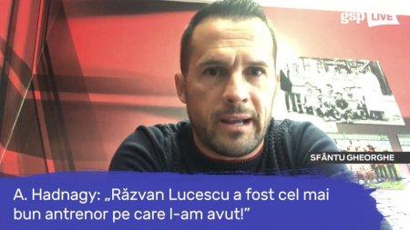 Attila Hadnagy, despre perioada cand a fost antrenat de Razvan Lucescu: