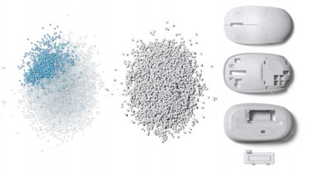 Noul mouse Microsoft contine plastic reciclat din oceane