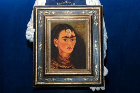 Ce recorduri bate ultimul tablou Frida Khalo. Licitat la <span style='background:#EDF514'>SOTHEBY</span>', Diego y yo este evaluat la minimum 30 de milioane de dolari