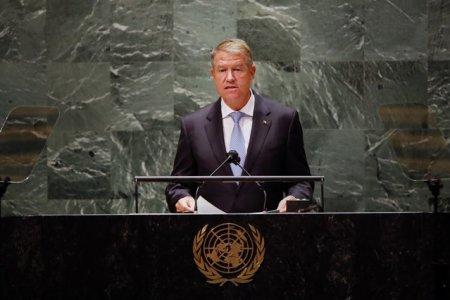 Iohannis, participare la ONU. Despre ce a vorbit?
