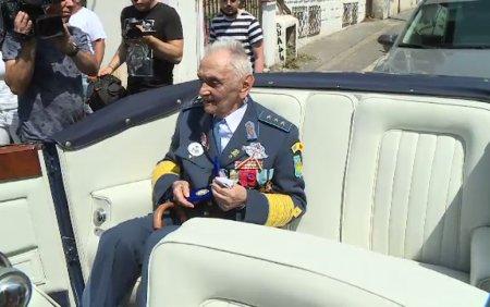 A murit Ion Dobran, ultimul pilot de vanatoare roman supravietuitor al celui de-al Doilea Razboi Mondial