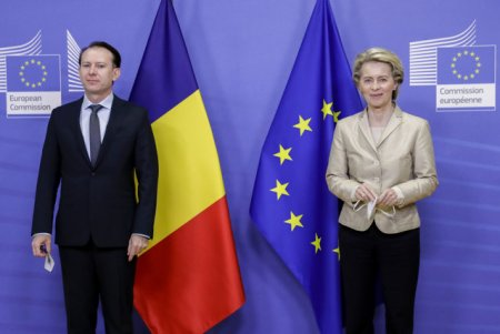 Ursula von der Leyen vine luni in Romania. Motivul vizitei