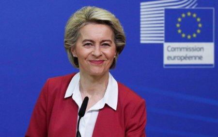 Presedinta Comisiei Europene Ursula von der Leyen viziteaza luni Romania pentru a prezenta evaluarea PNRR