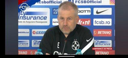 Edi Iordanescu a prefatat meciul cu Academica Clinceni: