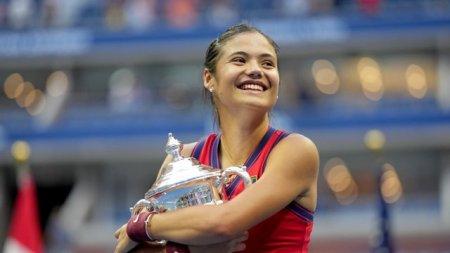 Campioana US Open, Emma Raducanu, a facut pereche la dublu cu <span style='background:#EDF514'>KATE</span> Middleton, Ducesa de Cambridge