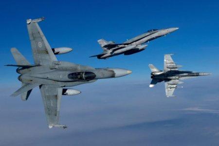 Incident in Marea Neagra. <span style='background:#EDF514'>AVIOANE</span> romane si canadiene au interceptat mai aeronave militare ruse in aproperierea spatiului aerian al Romaniei