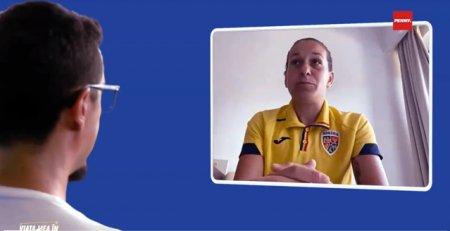 Viata mea in fotbal. Laura Lala Rus, un fel de <span style='background:#EDF514'>CRISTIANO RONALDO</span> al fotbalului romanesc feminin