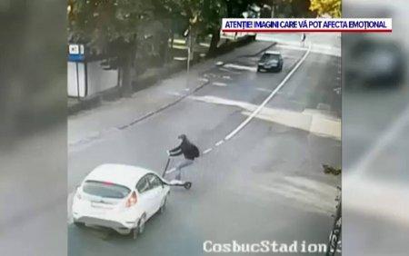 Sute de raniti din cauza inconstientilor cu trotinete electrice. In Romania, se vand la liber si cele care prind 100 km/h
