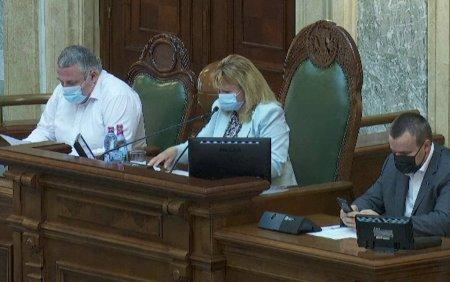 Anca Dragu, implicata intr-un accident rutier in Bucuresti. Cum se simte sefa Senatului
