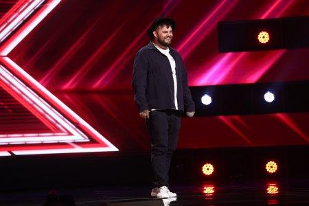 X Factor 2021, 24 septembrie. Bogdan Panaite Casper a facut un moment de rap improvizat folosind cuvinte date de juriu