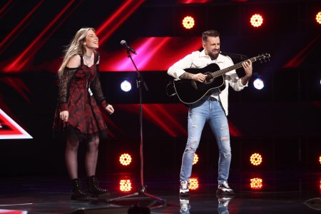 X Factor 2021, 24 septembrie. Delia Ligotchi a venit pe scena cu o piesa proprie cu care i-a emotionat pe jurati