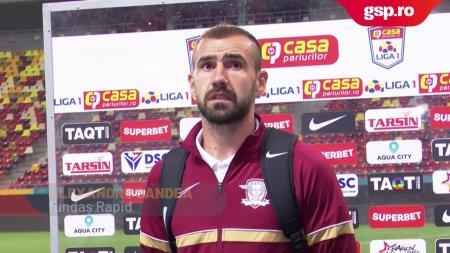 RAPID. Alexandru Dandea, dezamagit dupa infrangerea cu FC Voluntari:
