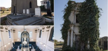 Misterele monumentelor evreiesti de la Alba Iulia. Cum s-au transformat, in secole, cimitirul si sinagoga FOTO VIDEO