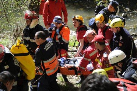 Dambovita: Interventie de peste 3 ore a salvamontistilor pentru salvarea unui turist cu hipotemie