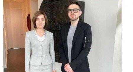 COMENTARIU Adrian Onciu: Culisele strangerii de mana dintre presedintele Maia Sandu si filantropul Alex Soros