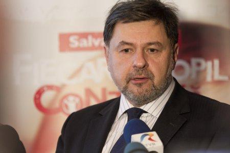 Alexandru Rafila acuza o manipulare: Se doreste ca parintii sa fie speriati de aceasta chestiune