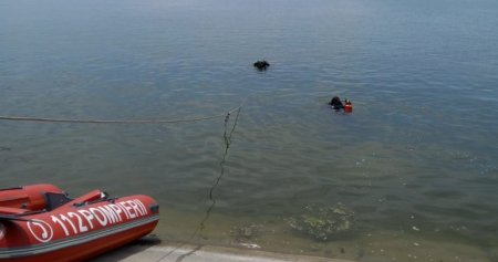 Un barbat a murit dupa ce a cazut cu masina in Dunare, aproape de Insula Mare  a Brailei