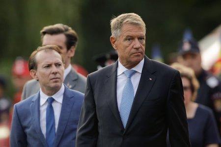 Klaus Iohannis: Nu exista niciun motiv real ca premierul sa fie demis