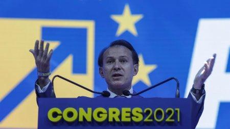 Congres PNL septembrie 2021. Florin Citu, primit cu <span style='background:#EDF514'>HUIDU</span>ieli la congres, se cere demisia lui. Orban a intervenit