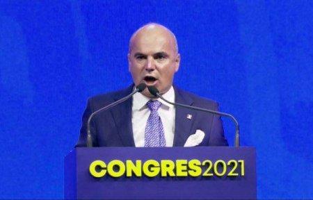 RARES BOGDAN, IN CONGRESUL PNL: 'Demisia nu se striga de la noi, ca nu suntem PSD-isti'
