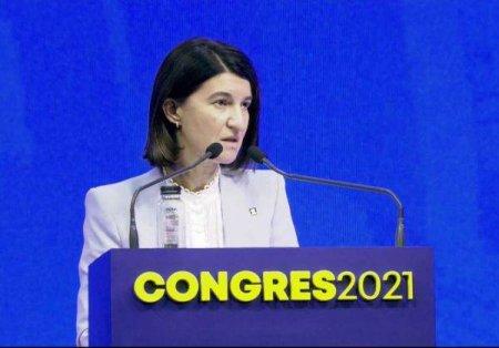VIOLETA ALEXANDRU, IN CONGRESUL PNL: 'Cand te uiti la presedintele PNL, te uiti la omul care trebuie sa ia decizia'