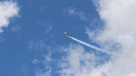 Avion aterizat fortat, pe un teren de langa aerodromul Strejnic, judetul Prahova