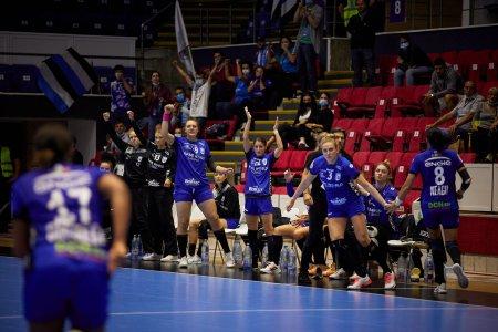 CSM Bucuresti, prima victorie din grupa A a Ligii Campionilor la handbal feminin