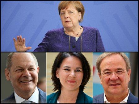 Alegeri Germania. Germanii merg azi la urne pentru a decide urmasul Angelei Merkel. Cine sunt favoritii si cum arata posibilele coalitii LIVE UPDATE