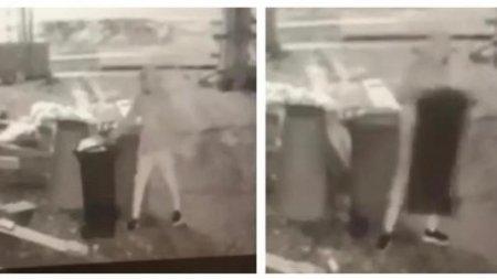 Un baimarean ofera o recompensa de 500 de lei pentru informatii care vor ajuta la prinderea hotului care i-a furat pubela de gunoi