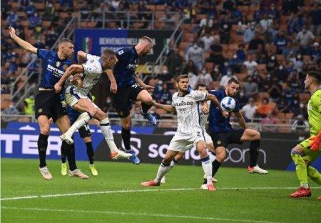 Inter a inregistrat primul semiesec dupa 18 victorii consecutive, pe teren propriu, in Serie A (Video)