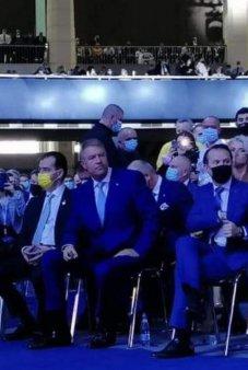 Klaus Iohannis, prins fara masca la Congresul PNL. Presedintele Romaniei, in 2020: In fata unei boli, ori esti precaut, ori e<span style='background:#EDF514'>STI PRO</span>st