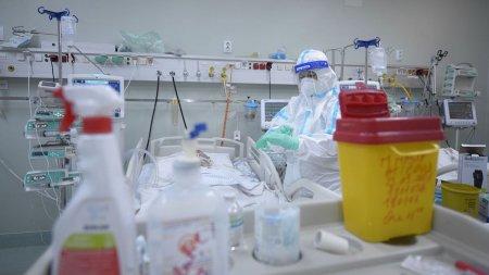 Niciun pat liber la ATI pentru bolnavii COVID-19, in Bucuresti