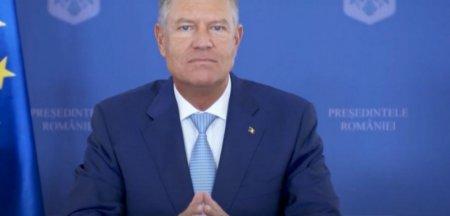 Reactia Sindicatului Europol dupa ce Iohannis a fost surprins fara masca la Congres: Politistului ii este jena sa mai aplice amenda FOTO