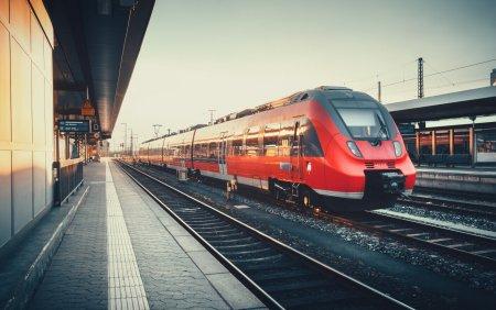 Pictura de 25.000 de euro, fu<span style='background:#EDF514'>RATA</span> dintr-un tren din Germania dupa ce proprietarul a adormit