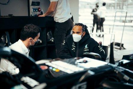 Hamilton obtine victoria cu numarul 100 in Formula 1