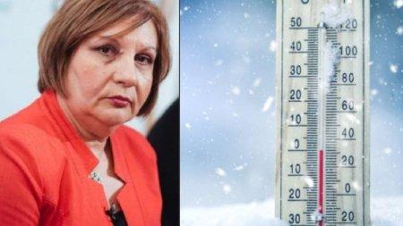 Un val de frig loveste Romania incepand de maine. Directorul ANM anunta prognoza meteo