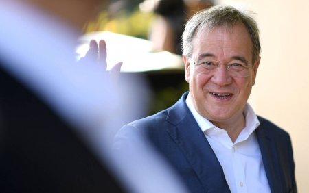 Alegeri in Germania: Candidatul conservator Armin Laschet a comis o <span style='background:#EDF514'>GAFA</span> la vot