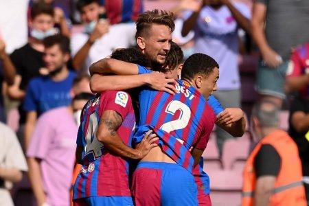 Barcelona - Levante » Doua goluri marcate in prima repriza