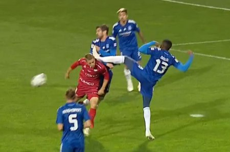 Penalty neacordat pentru gazde in FC Botosani - FCU Craiova » Gafa lui Fesnic