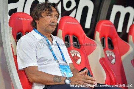 Dinamo l-a eliberat din functie pe Bonetti