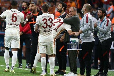 Primul gol al lui Olimpiu Morutan la Galatasaray, o bijuterie!