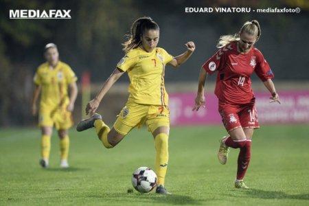 Rezultatele etapei a 4-a din Liga 1 la fotbal feminin, in care s-au inscris 31 goluri