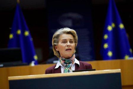 Ursula von der Leyen vine azi la Bucuresti. Șefa Comisiei Europene prezinta evaluarea PNRR. Intalniri cu Klaus Iohannis si Florin Citu